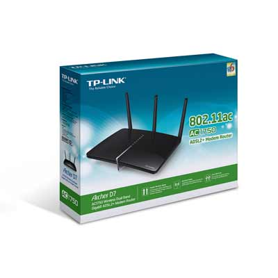 tp-link Archer D7 AC1750 Wireless Dual Band Modem Router