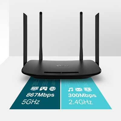 tp-link Archer VR300 AC1200 Wireless VDSL/ADSL Modem Router