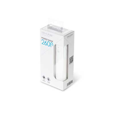 tp-link TL-PB2600 2600mAh Power Bank 1 Micro USB port