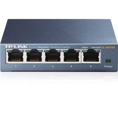tp-link TL-SG105-5-Port 10/100/1000Mbps Desktop Switch
