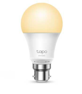 TP-Link Tapo Smart Wi-Fi Light Bulb Dimmable B22
